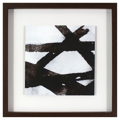 Framed Wall Art Black/White - Threshold™