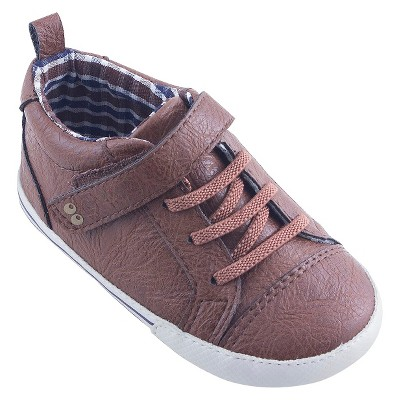 Baby Boys' Crib Sneakers - Brown M - Surprize by Stride Rite™