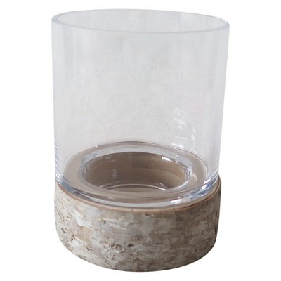 Medium Birch Bark Pillar Candle Holder - Smith & Hawken™