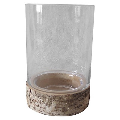Large Birch Bark Pillar Candle Holder - Smith & Hawken™