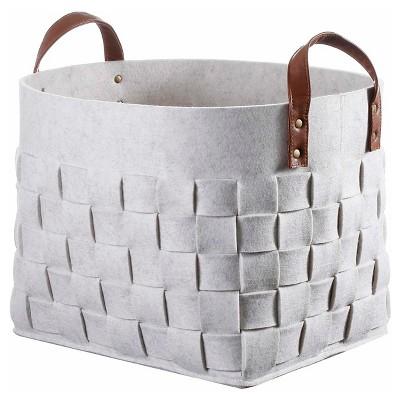 Felt Basket White Threshold™