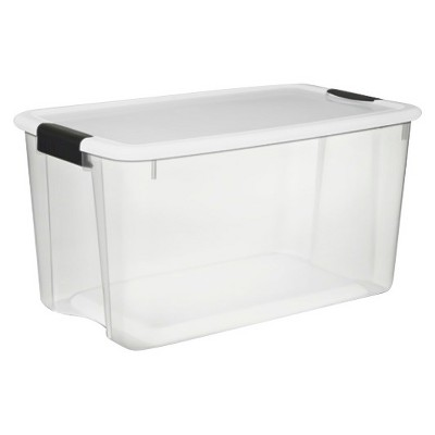 Sterilite Ultra 70 Qt Storage Tote - Set of 4