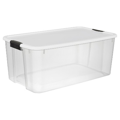Sterilite Ultra 116 Qt Storage Tote - Set of 4