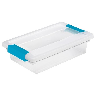 Sterilite® Small Clip Storage Box - Set of 6