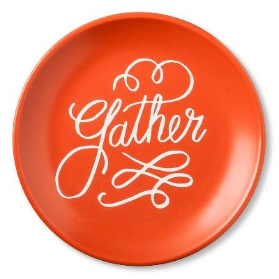"""Gather"" Appetizer Plate 6.25in Stoneware Orange - Threshold™"