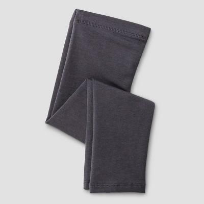Baby Girls' Solid Legging Gray 12M - Cat & Jack™