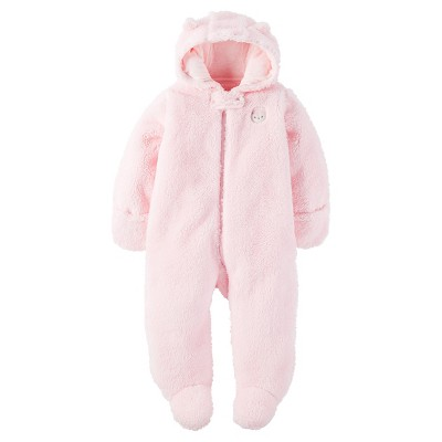 Baby Girls' Sherpa Owl Pram Pink NB - Just One You™Made by Carter's®