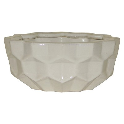 White Wash Ceramic Decorative Bowl - Threshold™
