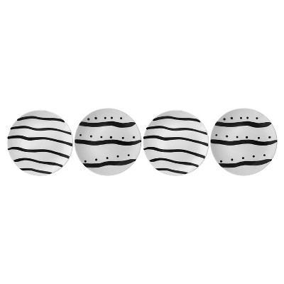 Striped Dessert Plates Set of 4 - Nate Berkus™