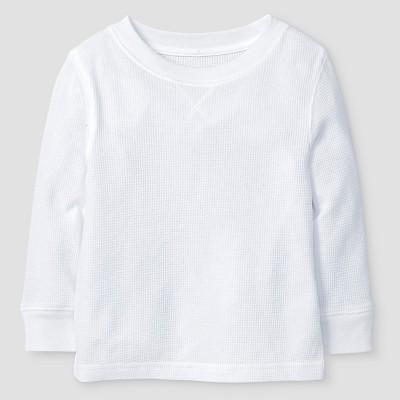 Baby Boys' Henley Shirt Baby Cat & Jack™ - White 12 M