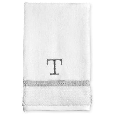 Monogram Diamond Seed Hand Towel T - Threshold™