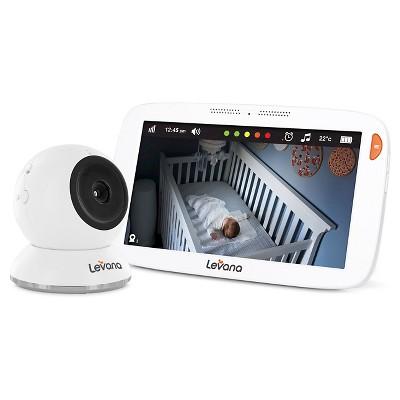 "Levana® Amara™  7"" HD Touchscreen Video Baby Monitor"
