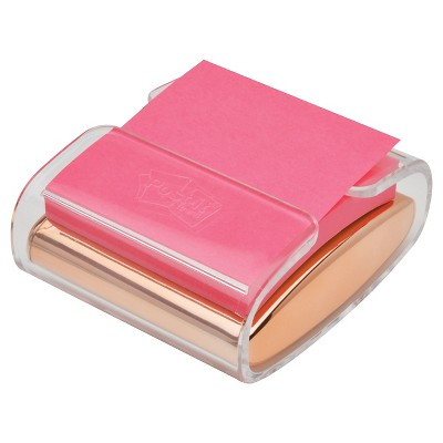 Post-It® Note Pop-up Dispenser - Rose Gold