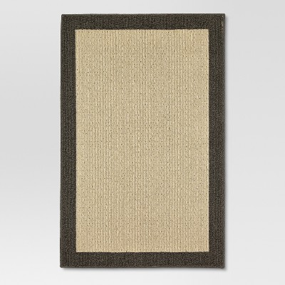 "Madison Border Area Rug Grey 48""x66"" - Threshold™"
