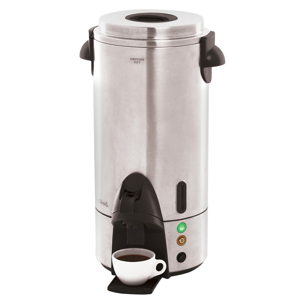 West Bend 100 Cup Coffee Urn - Stainless Steel, Silver