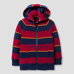 Toddler Boys' Stripe Hooded Sweatshirt Cat & Jack™