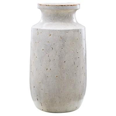 Speckled Vase White Large - Threshold™