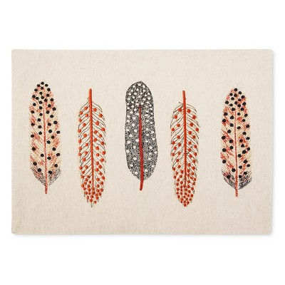 Feather Placemat Tan - Threshold™