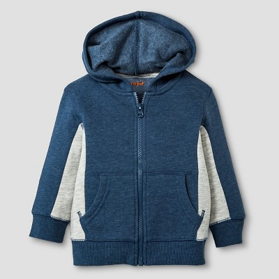 Baby Boys' Hooded Sweatshirt Baby Cat & Jack™ - Navy Blue 12 M