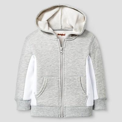 Baby Boys' Hooded Sweatshirt Baby Cat & Jack™ - Heather Grey 12 M