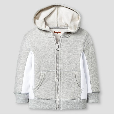 Baby Boys' Hooded Sweatshirt Baby Cat & Jack™ - Heather Grey 18 M