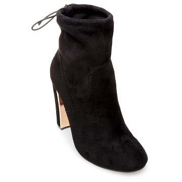 Women's Stacy Stretch Booties - Mossimo Black™