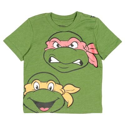 Baby Boys' TMNT® Short Sleeve T-Shirt - Deep Green Heather 12 M