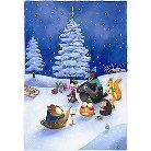 Howl Owl Christmas Advent Calendar (Paperback)