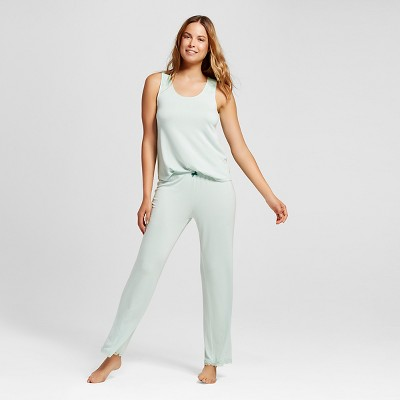 Women's Total Comfort Collection Pajama Set Glazed Green M - Gilligan & O'Malley™