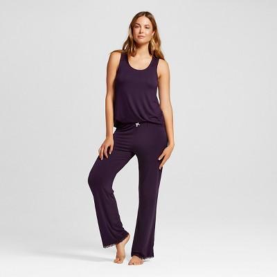 Women's Total Comfort Collection Pajama Set Purple Bergamot XL - Gilligan & O'Malley™