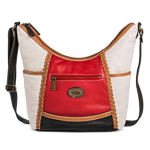 Elegant Women39s Solid Saddle Bags Ripple Blue  Merona  Target
