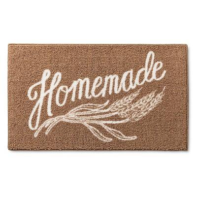 "Kitchen Rug Homemade  Brown - (20""x34"") - Threshold™"