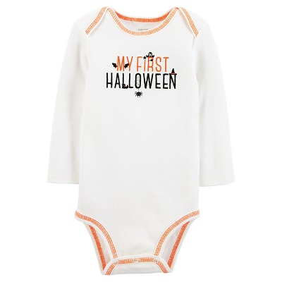 Just One You™Made by Carter's® Baby My First Halloween Long Sleeve Bodysuit - NB