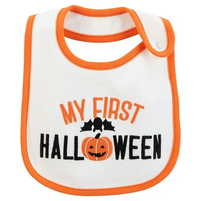 Just One You™Made by Carter's® Baby My First Halloween Bib - OSZ