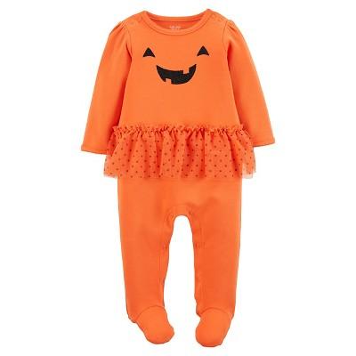Just One You™Made by Carter's® Baby Girls' Pumpkin Tutu Sleep N' Play - 3M