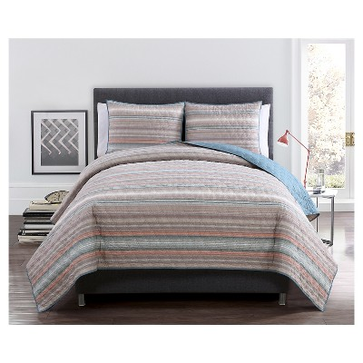 Dover Quilt Set King Multicolor 3 Piece - VCNY®