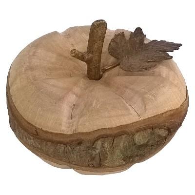 Large Raw Edge Wood Pumpkin Threshold™