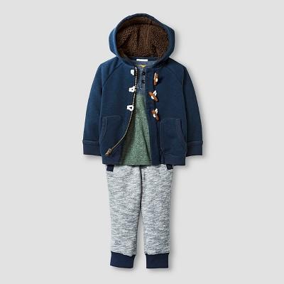 Baby Boys' Top and bottom set - Dressy Blue 12M - Genuine Kids™ from Oshkosh®