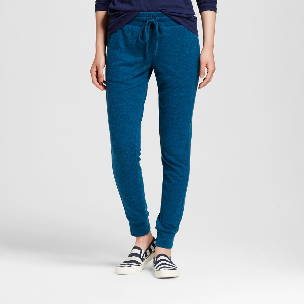 Women's Jogger Blue and Black Marle M - Mossimo Supply Co. (Juniors'), Size: Medium, Blue/Black