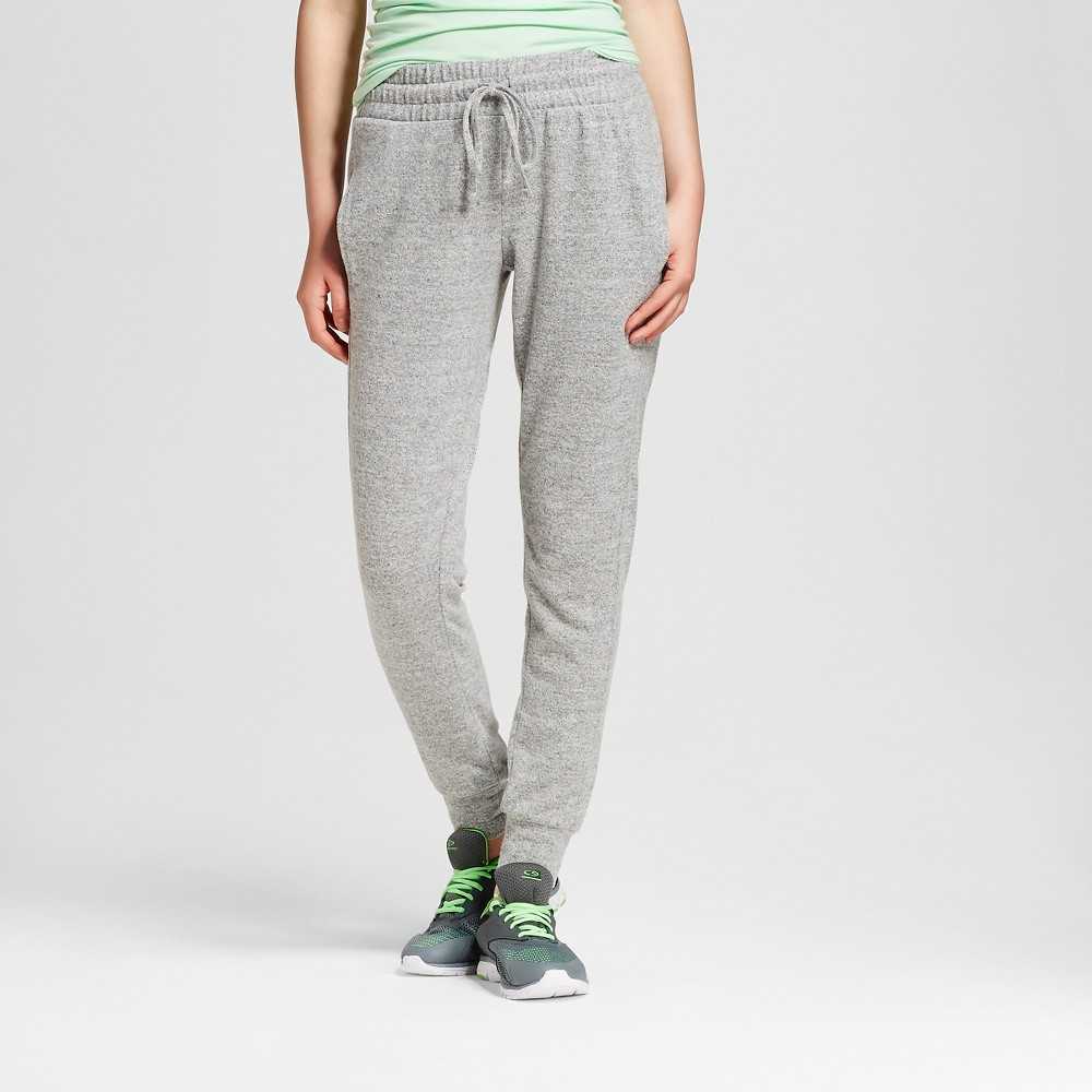 Women's Jogger Black and White Marle L - Mossimo Supply Co. (Juniors'), Size: Large, Black/White