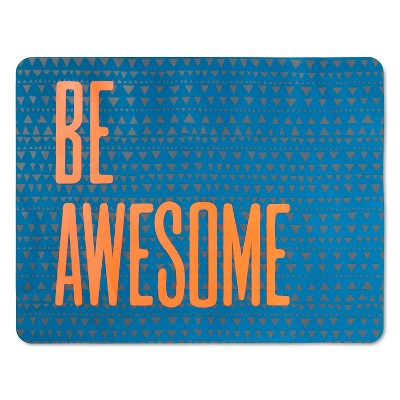 Be Awesome Soft EVA Placemat Blue - Pillowfort™