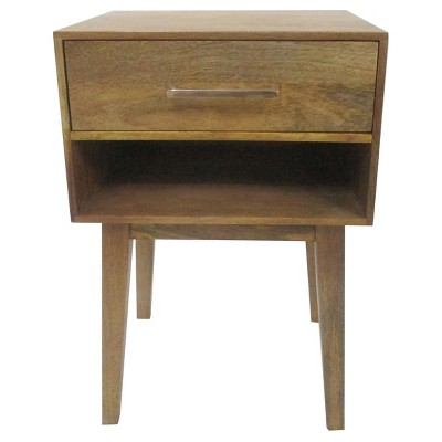 Wood One Drawer Accent Table with Cubby - Threshold™