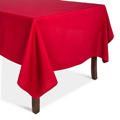 "Tablecloth Red - (60""x104"") - Threshold™"