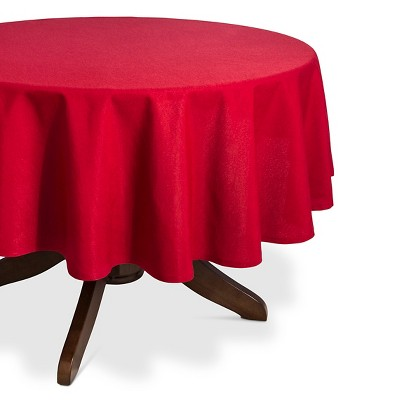 "Tablecloth Red - (70"" Round) - Threshold™"
