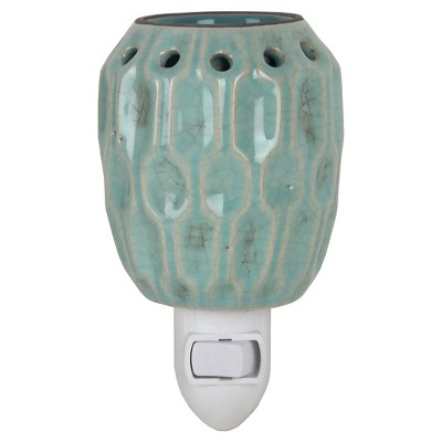 Warmer Ceramic Plug In Crackle Gold Home Scents by Chesapeake Bay
