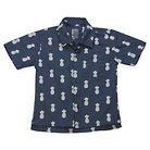 Button Down Shirts Navy 2T