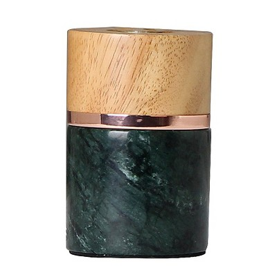 Green Marble & Wood Edison Table Lamp (Includes CFL Bulb) -Threshold™