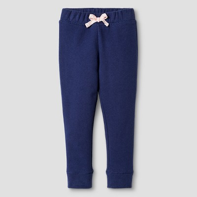 Toddler Girls' Fleece Lounge Pant Navy 5T - Cat and Jack™