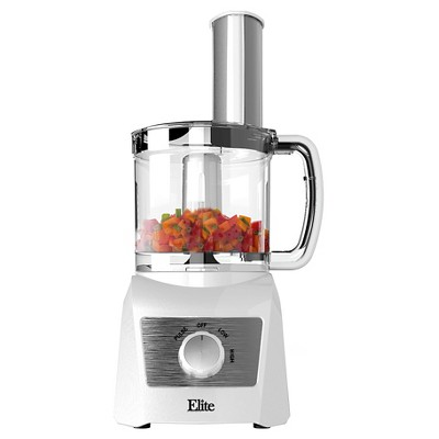 Elite Platinum 3 Cup Food Processor - True White