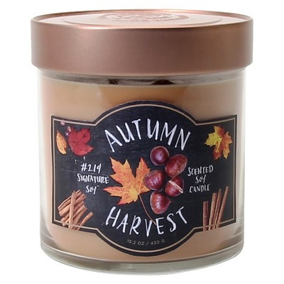 Signature Soy™ Candle Autumn Harvest - 15.2 oz